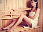 Làm đẹp - Dáng chuẩn nuột nà với xông hơi giảm cân