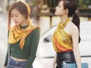 Thời trang Sao - Hoàng Thùy Linh ghi điểm với thời trang đường phố