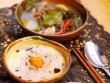 Bếp Eva - Trứng hấp thập cẩm ăn kèm canh cải chua