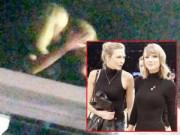 Làng sao - Lộ ảnh Taylor Swift hôn môi Karlie Kloss