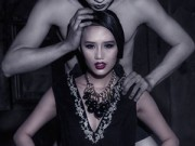 Hậu trường - Siêu mẫu trẻ Lâm Thùy Anh lẳng lơ, đa tình