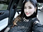 Bà bầu - Say đắm với vẻ đẹp của hotgirl TQ mang bầu song thai