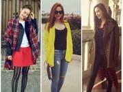 Thời trang - Tuần qua: Minh Hằng mặc áo khoác cực chất