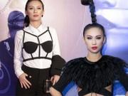 Thời trang - Tuyển tập váy lạ gây tò mò của MC Huyền Ny