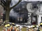 Tin tức - Mỹ: Máy bay lao vào nhà dân, 6 người thiệt mạng