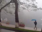 Bão số 5 có khả năng đổi hướng, Hà Nội mưa rét