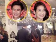 Làng sao - Lâm Y Thần vui vẻ bên chồng trong ngày tốt nghiệp