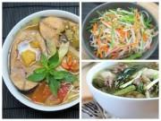 Bếp Eva - Thực đơn: Vịt om sấu, canh chua cá