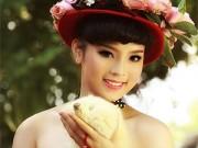 Làng sao - Hoa hậu Kỳ Duyên đẹp ngỡ ngàng trong bộ ảnh mới