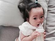 Làm mẹ - Ngắm con gái có làn da...không giống mẹ của Đoan Trang