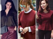 """Thời trang - Sao Việt bị """"say"""" gam màu gợi tình nhất năm 2015"""