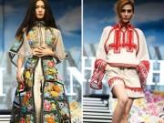 """Thời trang - """"Phù thủy"""" Minh Hạnh khiến xuân 2015 tràn ngập sắc hoa"""