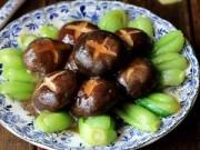 Bếp Eva - Cải chíp sốt dầu hào, nấm hương giản dị mà ngon