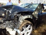 Tin tức - Vụ xe BMW đâm chết 2 người: Biển số thật đang ở Cao Bằng