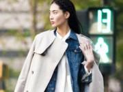Thời trang - 3 cách mặc sơ mi trắng đẹp trong ngày giá lạnh