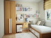 Nhà đẹp - Vợ bày phòng ngủ nhỏ thông minh, chồng yêu chồng chiều