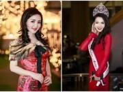 Làng sao - Giáng My, Jennifer Chung lộng lẫy trong sắc đỏ