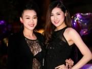 Làng sao - Á hậu Tú Anh, Trương Tùng Lan đọ sắc đen quyến rũ