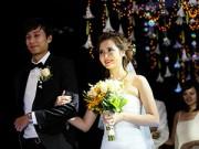 Làng sao - Cô dâu Huyền Lizzie đẹp rạng ngời trong ngày cưới