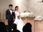 Sungmin (Suju) hạnh phúc bên cô dâu trong ngày cưới