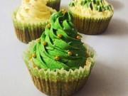 Bếp Eva - Cupcake vani cho Giáng sinh ngọt ngào