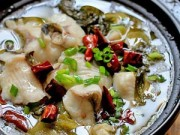 Thực đơn – Công thức - Canh cá nấu dưa chua thèm chảy nước miếng