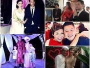 Hậu trường - 5 sao Việt lặng lẽ ăn hỏi, kết hôn trong năm 2014