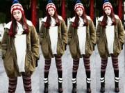 Xu hướng thời trang - Quần len ấm áp tạo phong cách lạ