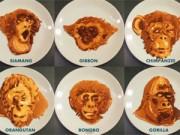 Bếp Eva - Tròn mắt với tài làm bánh pancake hình khỉ