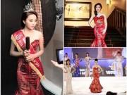 Thời trang - Kỳ Duyên mặc lại váy 70 triệu với hoa hậu Giáng My