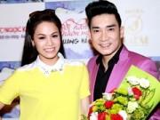 Làng sao - Nhật Kim Anh đẹp rạng ngời bên Quang Hà trước ngày cưới