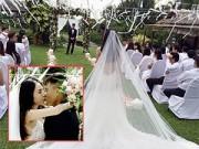 Người nổi tiếng - Thủy Tiên bất ngờ tung ảnh đám cưới gây xôn xao