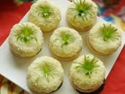 Bếp Eva - Bánh giầy đậu xanh vừa thơm vừa dẻo