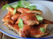 Món ngon - Thịt gà om xì dầu nguyên con đầy mời gọi