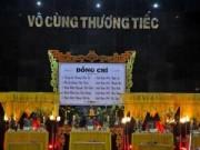 Tin trong nước - Xót xa tiễn đưa 5 quân nhân tử nạn trong vụ TNGT ở Quảng Nam