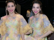 Thời trang Sao - Hồ Ngọc Hà mặc váy xuyên thấu nhảy cực sung