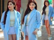 Thời trang - Gợi cảm đón Noel cùng hotgirl Hà Nội giỏi 4 ngoại ngữ