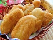 Bếp Eva - Bánh chuối rán nóng hổi, vừa ăn vừa thổi