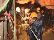 Vụ sập hầm thủy điện: 3 ngày nữa mới tiếp cận nạn nhân