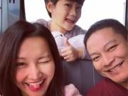 Làng sao - Vợ chồng Kim Hiền hạnh phúc đưa Sonic đi nghỉ dưỡng