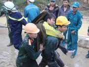 Vụ sập hầm: 12 công nhân đã được đưa ra khỏi hầm