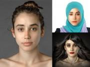 Làm đẹp - Thú vị vẻ đẹp của 20 nước trên cùng một gương mặt