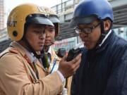 Tin tức - Nếu người vi phạm say quá, CSGT Hà Nội sẽ đưa về nhà