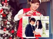 Làng sao - Hồ Quang Hiếu rạng rỡ đón Noel sớm bên bạn bè