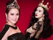 Thời trang - Người đẹp Việt lạm dụng vương miện quá đà!