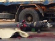 Tin tức - Nghệ An: Xe tải mất lái, một người bị cán chết