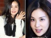 Vợ Jang Dong Gun:  & quot;Gái hai con & quot; vẫn đẹp không tỳ vết