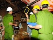 Khám nghiệm hiện trường vụ sập hầm thủy điện Đạ Dâng