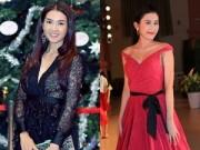 Làng sao - Anh Thư khoe nội y táo bạo, HH Trúc Linh rực rỡ váy đỏ