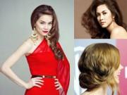 Làm đẹp - Những kiểu tóc dự tiệc sang trọng cho phụ nữ tuổi 30